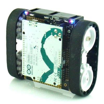 Photo1: Custom Zumo Robot set  for control experiments (Assembled)
