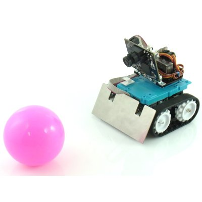 Photo1: Pixy + Zumo Image Recognition following Robot (Assembled)
